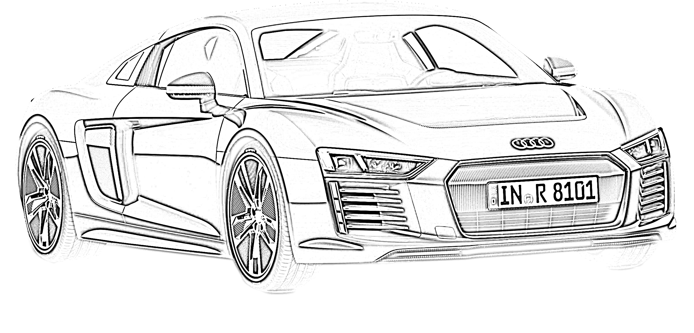 17 Free Sports Car Coloring Pages for Kids | Save, Print ...