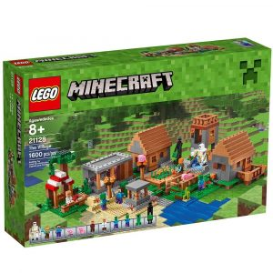 LEGO-Minecraft-The-Village-21128