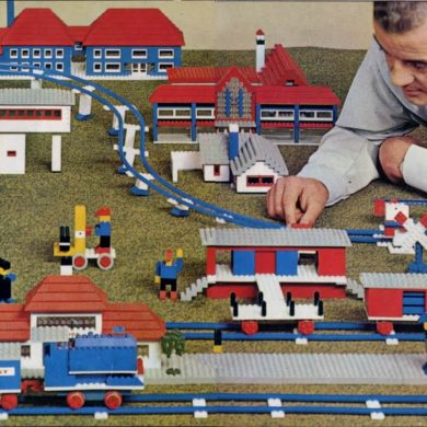 Lego-train-set
