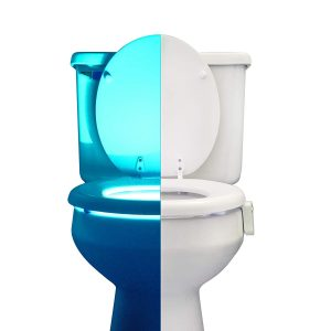 RainBowl Motion Sensor Toilet NIght Light