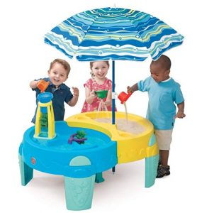 Step 2 Shady Oasis Sand And Water Play Table