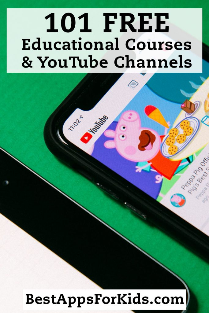 101 Free Educational Courses and Youtube Channels